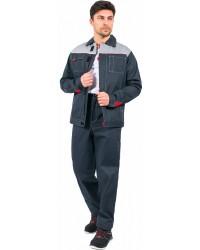 "Костюм мужской ""Фаворит"" (куртка/брюки) ткань пл. 250 г/м²"