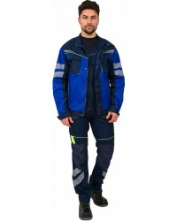 Куртка мужская PROFLINE SPECIALIST ткань пл. 240 г/м² цв. т.синий/васильковый