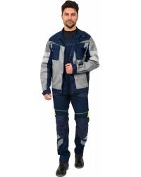 Куртка мужская PROFLINE SPECIALIST ткань пл. 240 г/м² цв. т.синий/серый