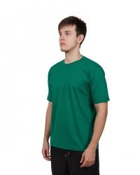 Футболка мужская с коротким рукавом (Светло-Зеленый) ткань пл. 160 г/м²