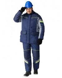 Куртка зимняя PROFLINE SPECIALIST (Таслан), серый/темно-синий