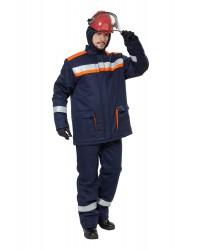 Костюм специальный зимний мужской СП08-З/V-2  до 85 кал/см² (I-II,III климатический пояс).