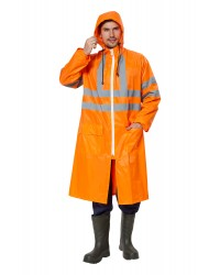 Плащ EXTRA-VISION WPL влагозащитный флуоресцентный оранжевый