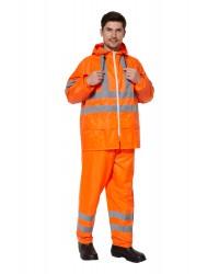 Костюм EXTRA-VISION WPL влагозащитный флуоресцентный оранжевый