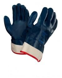 Перчатки Ansell Hycron® 27-805 (Хайкрон) с полным нитриловым покрытием, манжет крага