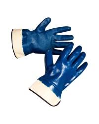 Перчатки Ansell Hycron® ActivArmr® 27-905 (Хайкрон Актив Армр) с полным нитриловым покрытием, манжет крага