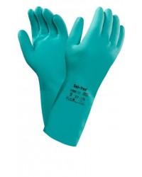Перчатки Ansell AlphaTec SOLVEX 37-675 (Альфатек Солвекс) нитриловые.
