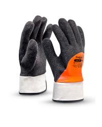 Перчатки Манипула Норд Грип ТРВ-100 (нейлон/акрил+ПВХ/полиуретан)