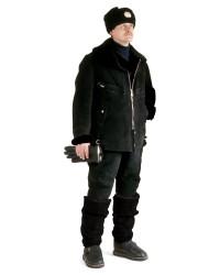 Костюм меховой нагольный (куртка/полукомбинезон)
