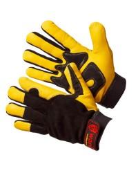 Антивибрационные кожаные перчатки Арго