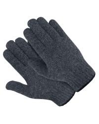 Перчатки ПОЛУШЕРСТЯНЫЕ ДВОЙНЫЕ (30% шерсть, 70% акрил)