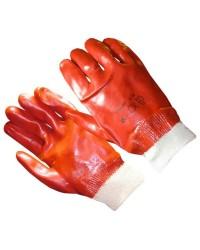 Перчатки Гранат МБС с ПВХ покрытием, манжет резинка