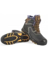 Ботинки высокие PERFECT PROTECTION КП МС ПУ/Нитрил  (натуральный мех)